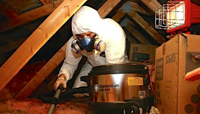 Crawl Space Cleaning & Decontamination